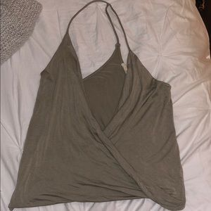 Perfect going out top in olive